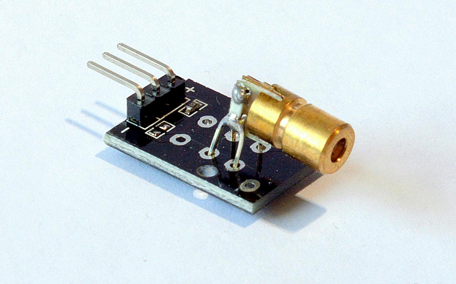 KY-008 Laser Pointer Sensor Transmitter Modul Module Arduino Raspberry Pi