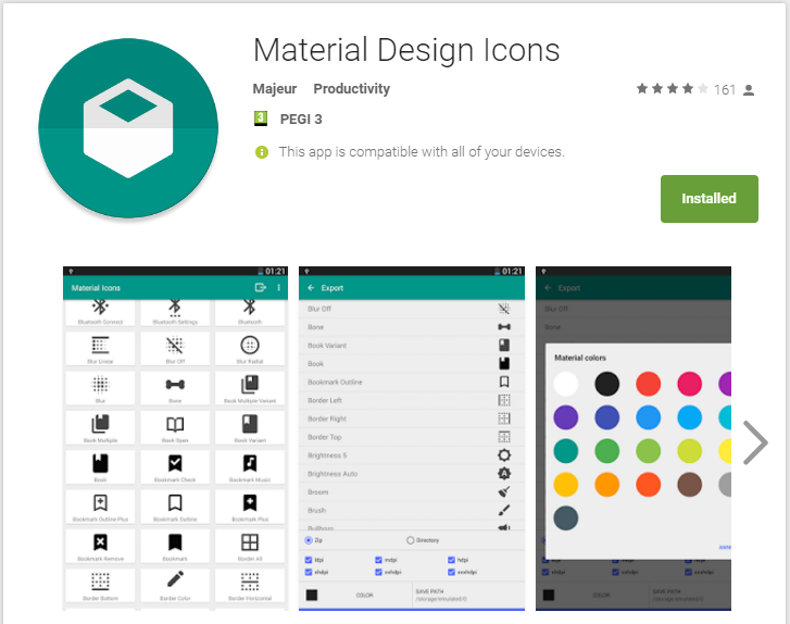 Material Design Icons - Tasker plugin - Not Enough TECH