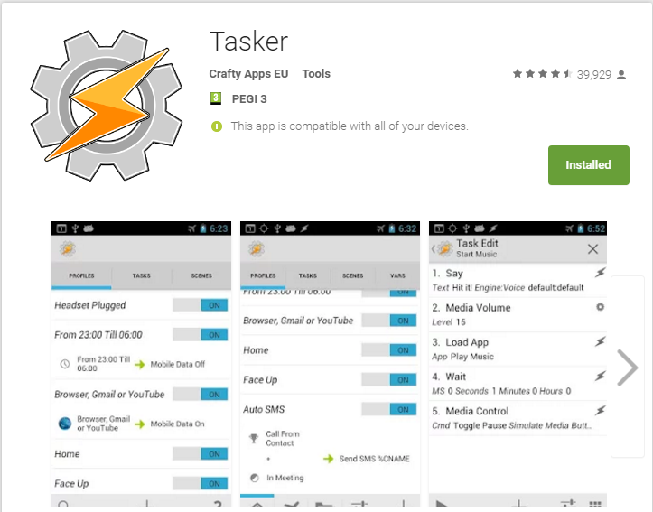 Try Tasker and Raspberry Pi for your home automation needs