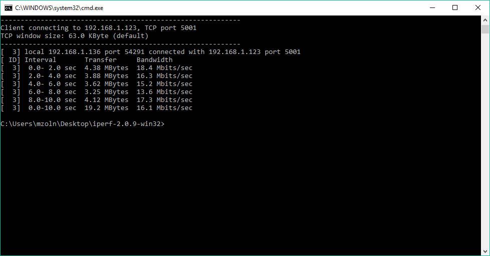 Raspberry Pi Zero W WIFI performance