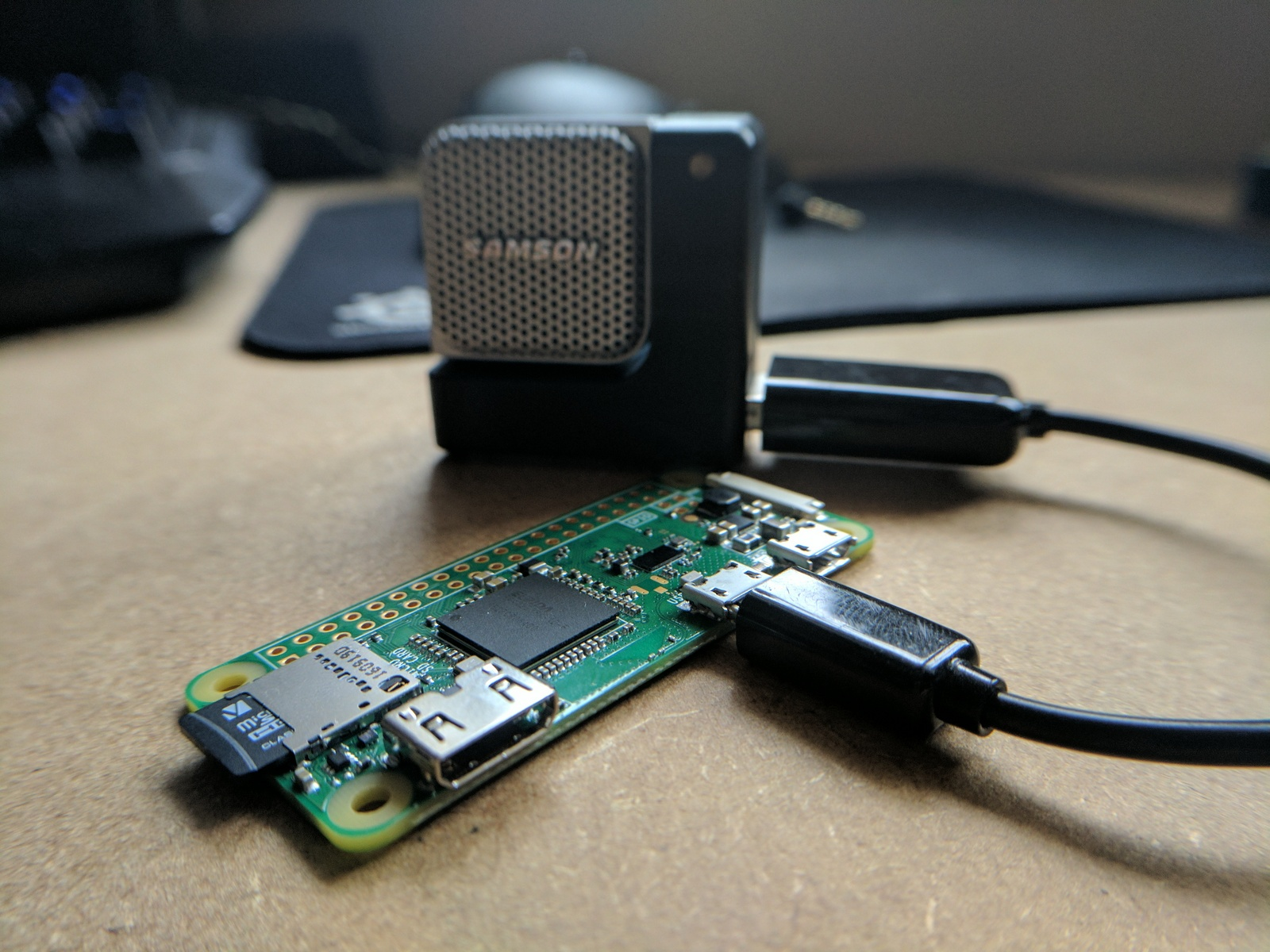 AIY Project on any Raspberry Pi including Zero W - Not