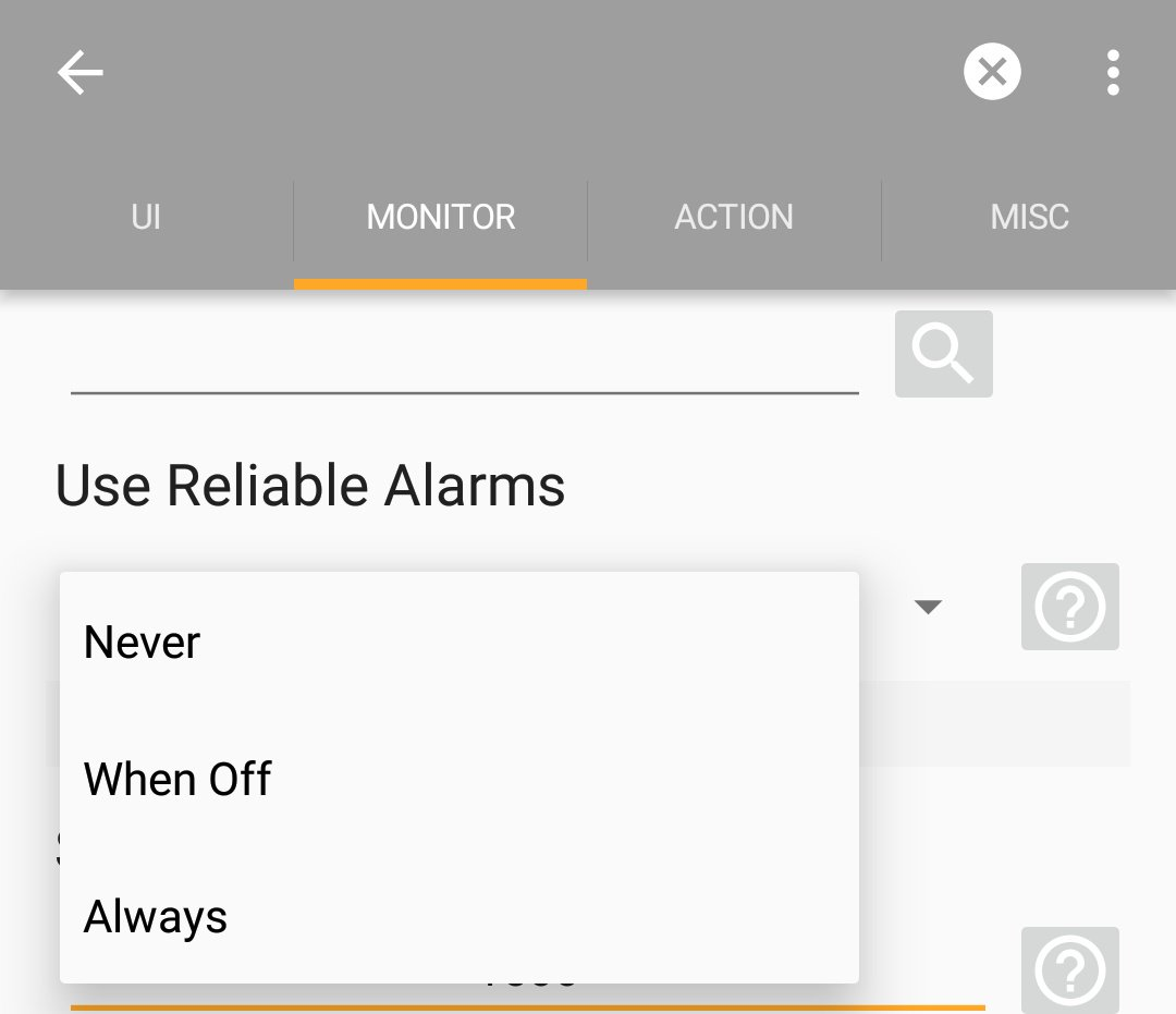 Are your time event conditions in Tasker are in trouble? - Not