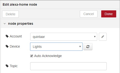 Alexa and NodeRED integration - Not Enough TECH
