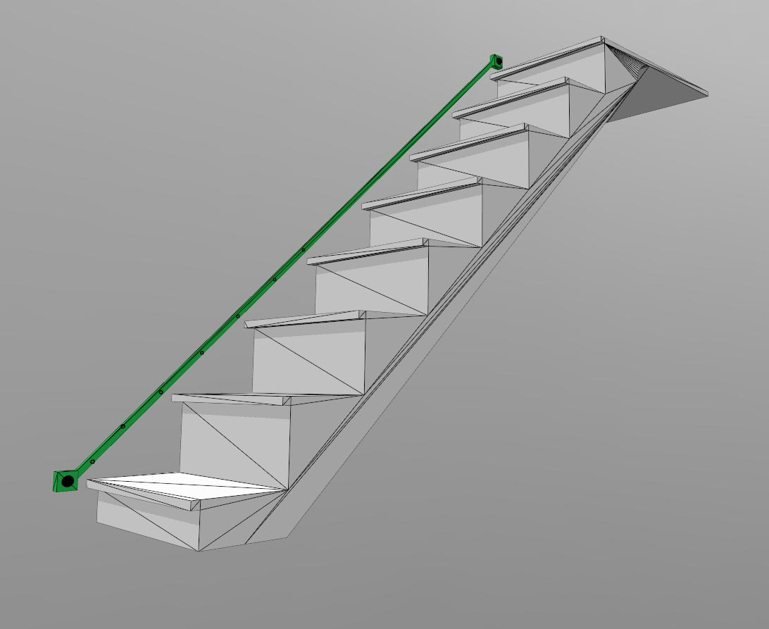 Lighting Basement Washroom Stairs: $20 Automated Staircase RGB LED Lighting: DESIGN #part1