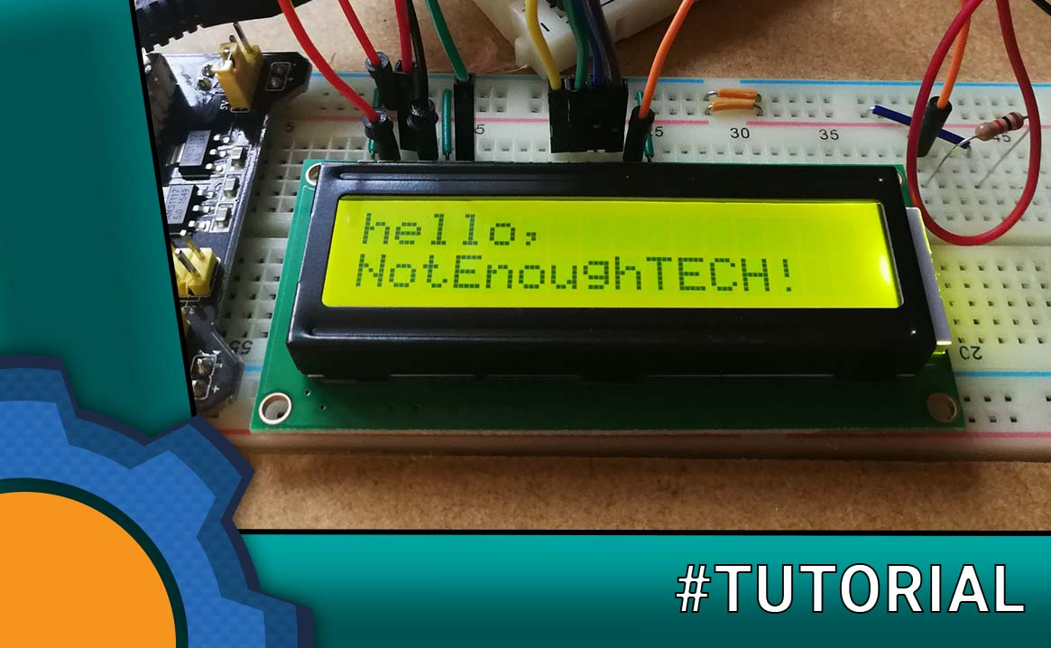 Driving LCD with Arduino and Raspberry Pi - Not Enough TECH