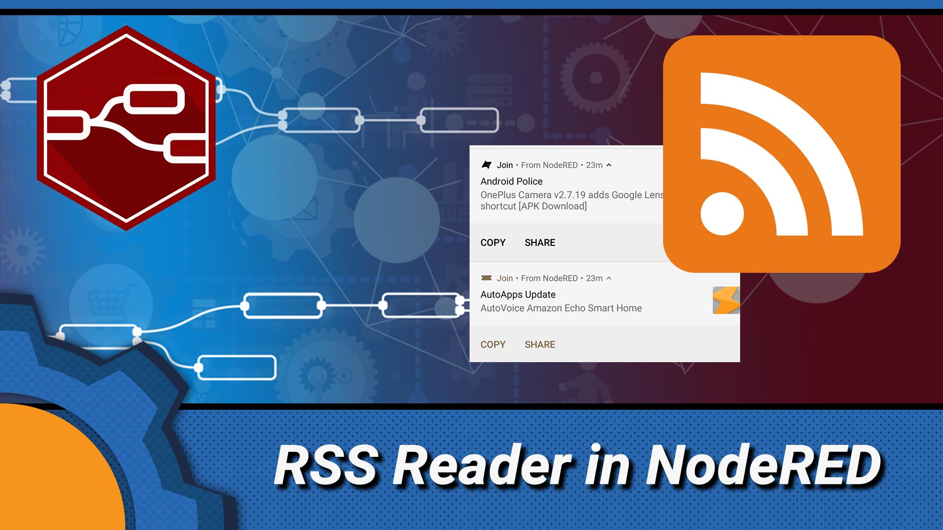 Turning Join and NodeRED into a RSS notification system
