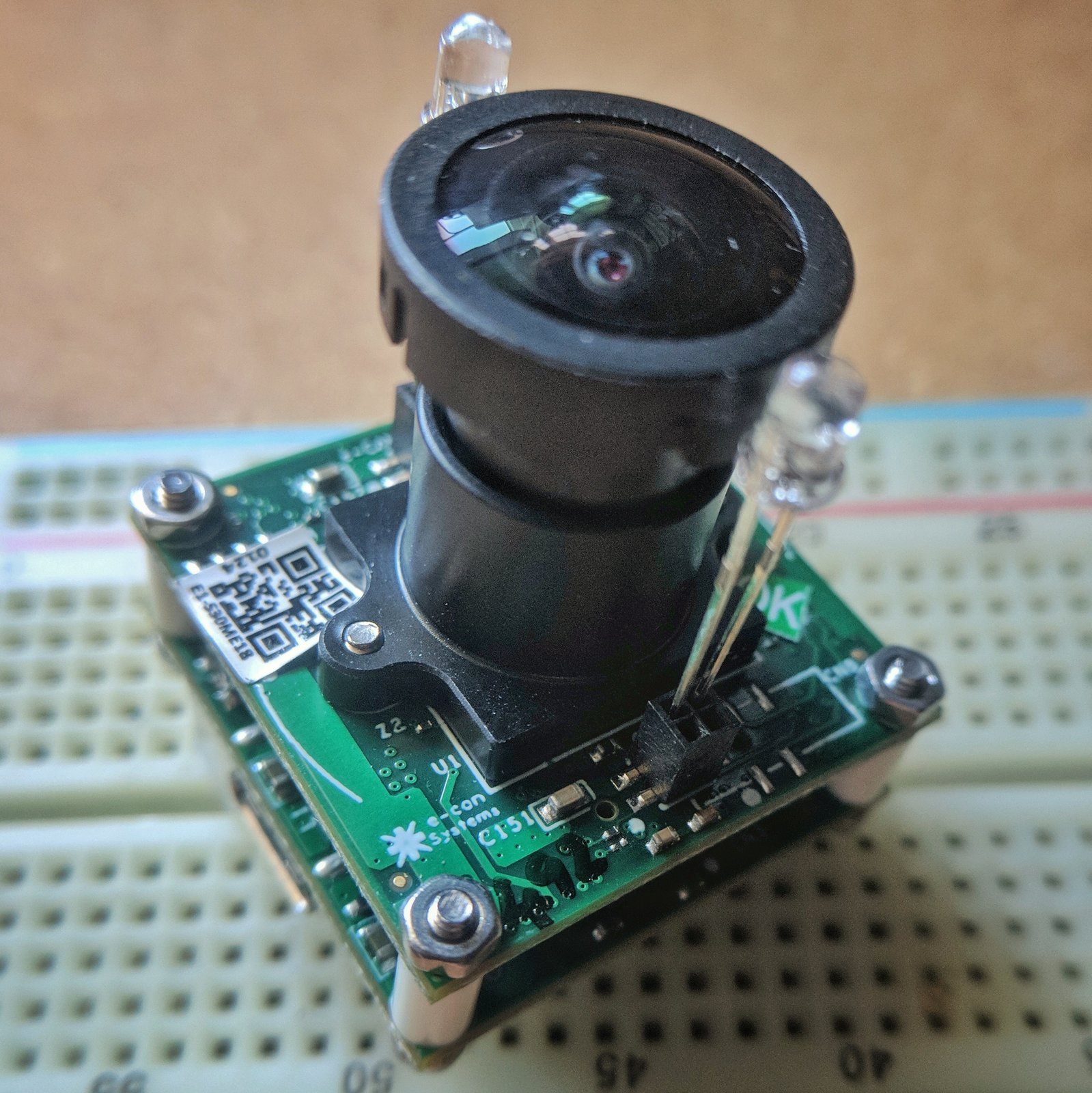 Add an eye to the Octopi: Camera See3CAM_CU30 - review - Not Enough TECH
