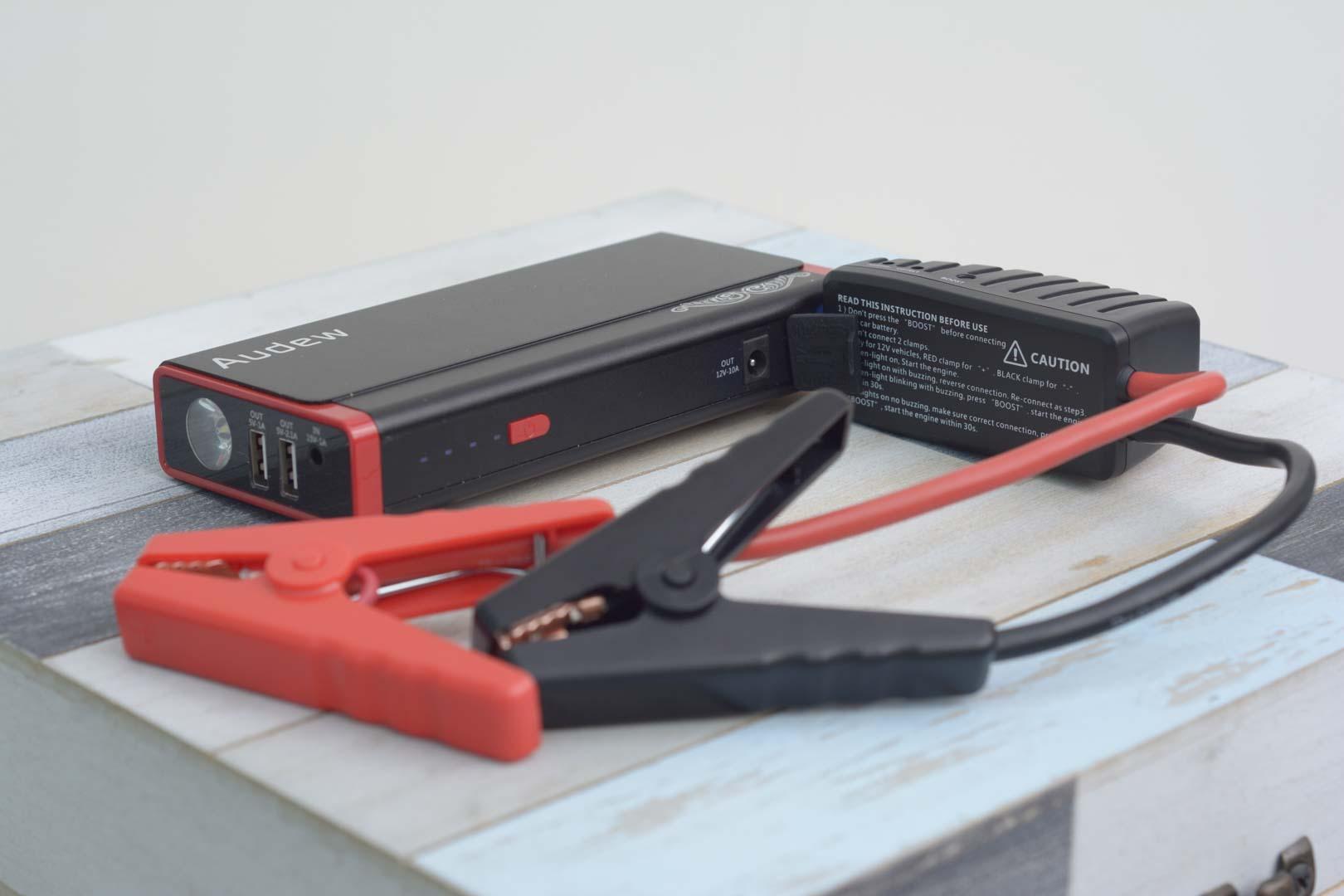Audew 13800mAh Battery Booster 500A Portable Car Jump Starter