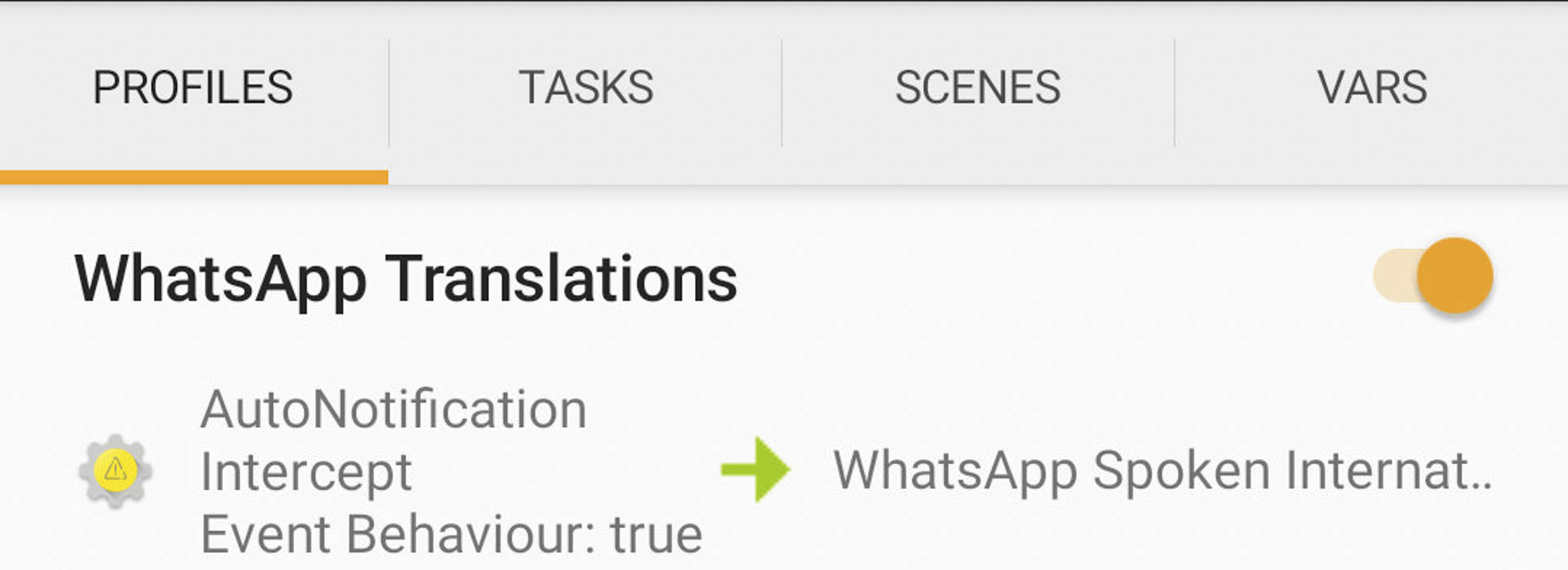 Get WhatsApp voice notifications & translations in native languages