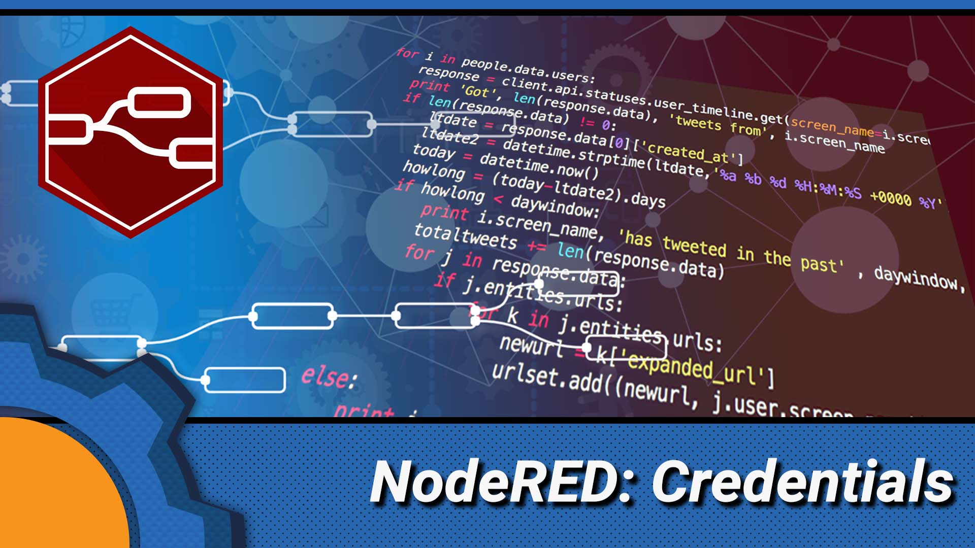 Serving credentials with NodeRED - Not Enough TECH