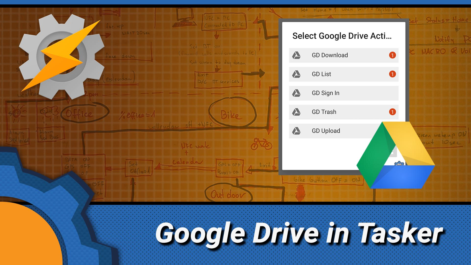 New Google Drive integrations in Tasker - Not Enough TECH