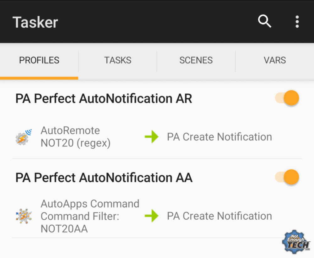 4 ways to organise Tasker projects - Not Enough TECH