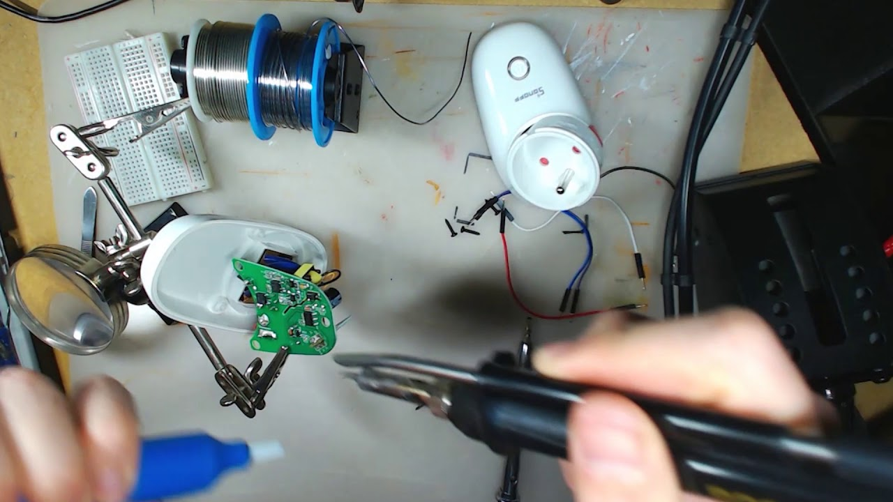 Hacking Sonoff WiFi Smart Plug - Not Enough TECH