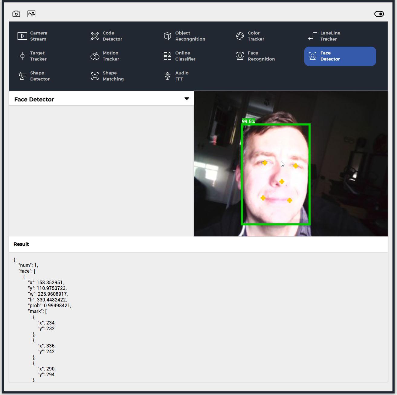 M5Stack UnitV2 interface