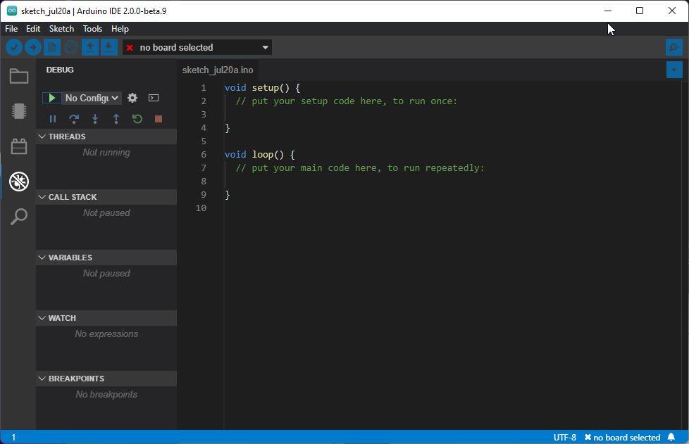 Arduino IDE 2.0