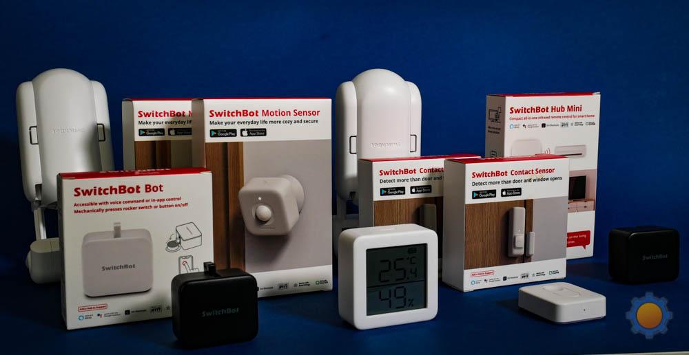 SwitchBot sensors
