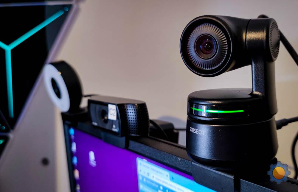 OBSBOT Tiny vs Logitech C920 vs Papalook webcam