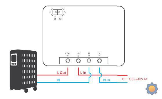 Sonoff POWR3 - schematic