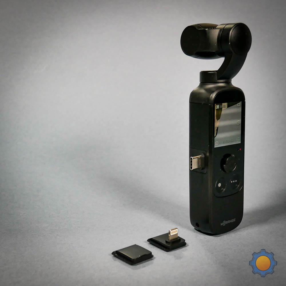 mOrange M1 Pro and USB-C & Lightning adapters