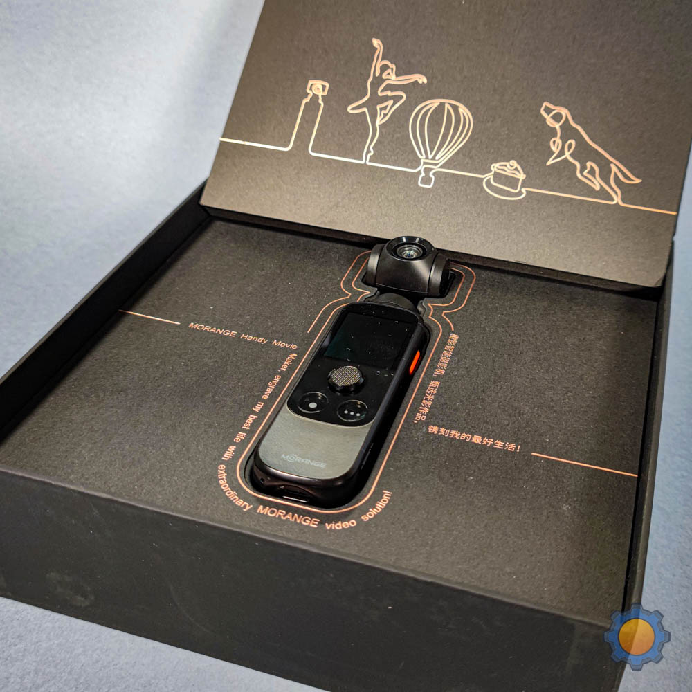 mOrange M1 Pro inside the box